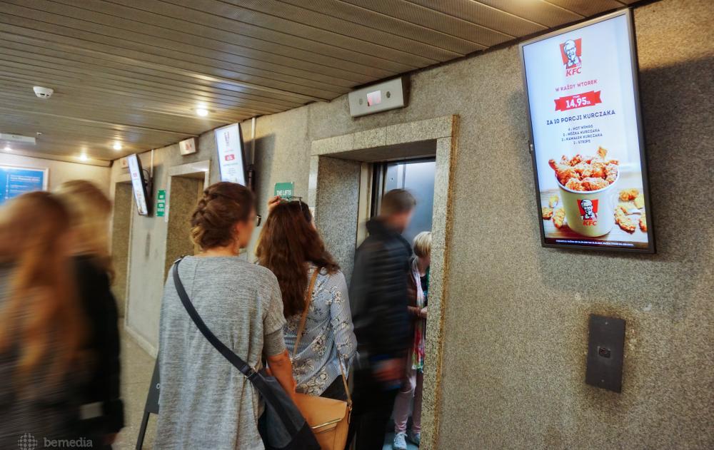 Reklama KFC na uczelniach
