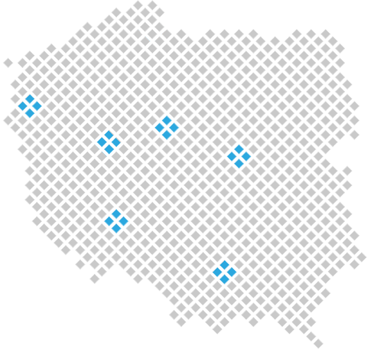 Mapa miast