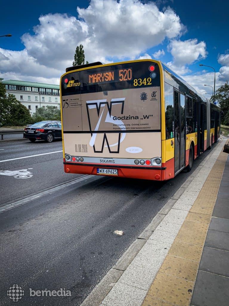 reklama na autobusach
