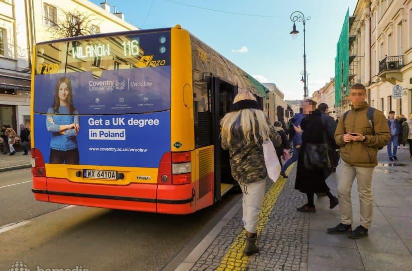 Kampania informacyjna dla Uniwersytetu Coventry w Polsce