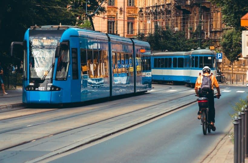 Reklama w mieście Kraków wczoraj i dziś